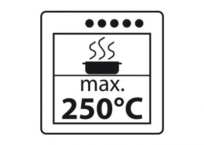 max. 250°C