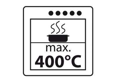 max. 400°C