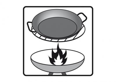 Grill Eisenpfanne