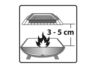 Gas-/Holzkohlegrillgeeignet