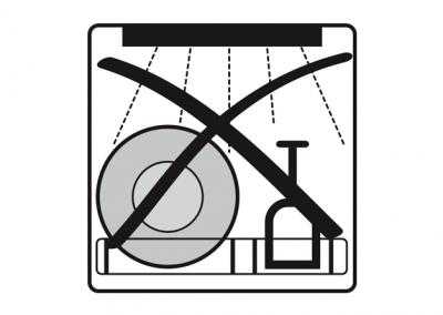 Spülmaschinenungeeignet